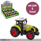"Traktor ""Farm Truck"" mit Licht- & Sound - Display"