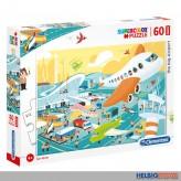 """Maxi-Puzzle """"Flughafen / The big airport"""" 60 Teile"""