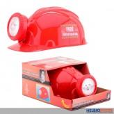 Feuerwehr-Helm mit Licht