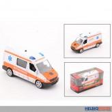 """Rettungsdienst-Auto """"Super Cars"""" 1:43 aus Metall - m. L&S"""