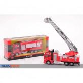 """Feuerwehr-Auto """"Super Trucks"""" mit Rückzug - 2-sort."""