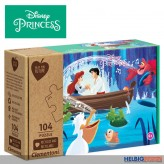 "Eco-Kinder-Puzzle Set ""Disney Princess"" 104 Teile - sort."