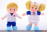 """Krankenhaus-Puppe """"Schwester & Arzt"""""""