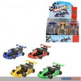 "Mini-Auto ""Go Kart - Mini Racers"" mit Friktion - 4-sort."