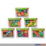 "Spiel-Set ""Obst & Gemüse"" - 6-sort."