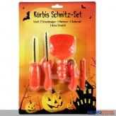 "Kürbis-Schnitz-Set ""Halloween"" - 5-tlg."