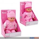 "Baby-Puppe ""Baby Rose"" 30 cm - 2-sort."