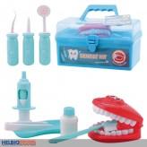 Zahnarzt-Spiel-Set - 10-tlg.