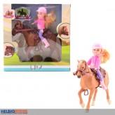 """Reiter-Puppen-Set """"my lovely horse"""" - 2-sort."""