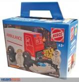 "Holz-Krankenwagen ""Ambulance"""