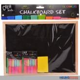 """Kreidetafel """"Chalkboard Crea Kids"""" inkl. Zubehör"""