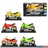 "Motorrad  ""X-Treme Motorcycle Deluxe"" m. L&S - sort."