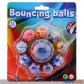 "Flummi-Spring-Bälle ""Bouncing Ball"" 10er-Set"