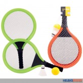 "Soft-Beachball-Tennisset ""Beach Tennis"" 4-tlg. - 2-sort."