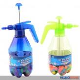"""Wasserbomben """"Pump-Flasche"""" - m. 100 selbstschließende WB"""