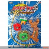 "Kampfkreisel ""Super Top"" auf Karte - sort."