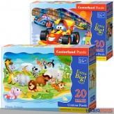 "Maxi-Formen-Puzzles ""59 x 40 cm"" - 20 Teile - 3-sort."