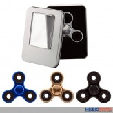 "Finger-Kreisel ""Super 360 Spinner - Chrome in Box"" - 4-sort."