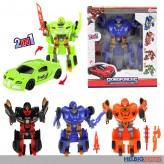 """Transformer-Roboterautos """"Roboforces"""" 4-sort."""