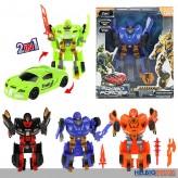 """Transformer-Roboter-Autos """"Roboforces"""" 4-sort."""