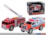 Feuerwehr-Auto - mit Licht & Sound