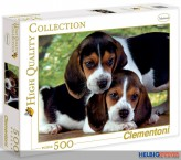 "Puzzle ""Hundewelpen - Close together"" - 500 Teile"