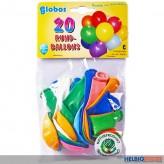 Luftballons rund Ø 25 cm - 20er Beutel