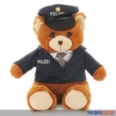 "Plüsch-Bär ""Polizist"" sitzend - 27 cm"