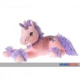 """Plüsch-Einhorn """"Unicorn"""" pink liegend - 35 cm"""