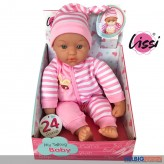 """Baby-Puppe """"Sprechende Baby Puppe"""" 38 cm - 24 Sounds"""