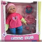 """Baby-Puppen-Set """"Baby Set Lissi"""" 42 cm - inkl. Zubehör"""