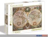 "Puzzle ""Life - Alte Karte/Mappa antica"" - 1000 Teile"