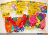 """10 gr. Zahlenluftballons m. Aufdruck """"70"""""""