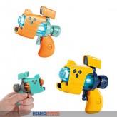"""Mini-Pistole """"Space Gun"""" m. Licht & Sound - 3-sort."""