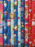 """Geschenkpapier """"Weihnachten-Kinder"""" - sort."""