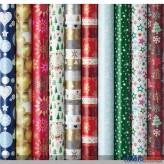 """Geschenkpapier """"Weihnachten/Christmas"""" sort."""
