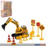 "Baustellen-Spielset ""Construction Team"" 10-tlg."