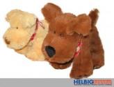 Plüsch-Hund - mit Halstuch