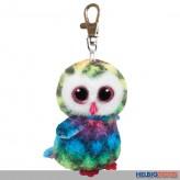 """Boo Clip/Anhänger - Eule """"Owen"""" multicolor - 8,5 cm"""