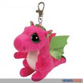 "Boo Clip/Anhänger - Drache ""Darla"" pink - 8,5 cm"