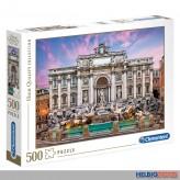 """Puzzle """"Trevi Brummen Rom / Fontana di Trevi"""" 500 Teile"""