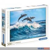 "Puzzle ""Dolphins - Springende Delfine"" 500 Teile"