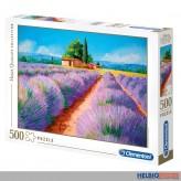 "Puzzle ""Lavendelfeld / Lavender scent"" -  500 Teile"