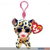 """Boo Clip/Schlüsselanhänger - Leopard """"Livvie"""" - 8,5 cm"""