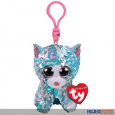 "Ty Flippables - Katze ""Whimsy"" - Clip 8,5 cm"