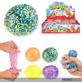 "Quetsch- & Zieh-Ball ""Squeezy Ball"" 6-sort."