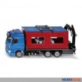 Siku 3556 - Mercedes-Benz LKW mit Baucontainer