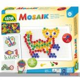 """Mosaik-Set / Steckperlen """"Mosaik m. 4 Vorlagen"""""""