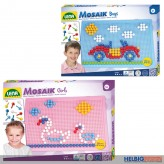 "Mosaik-Set / Steckperlen ""Boys & Girls"" 2-sort."
