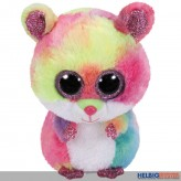 "Glubschi's/Beanie Boo's - Hamster ""Rodney"" bunt - 15 cm"